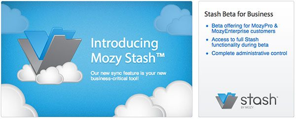 Get Mozy Stash for your Business!