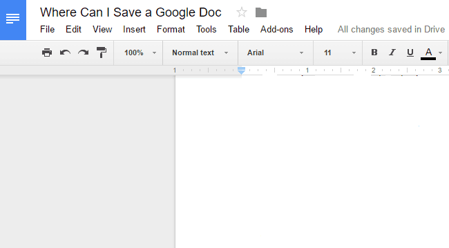save google doc as pdf