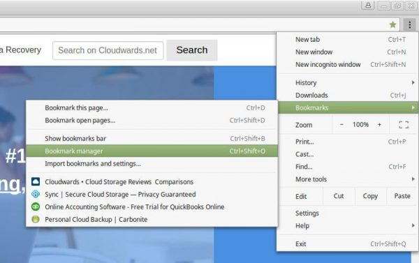 how to add bookmarks tab in chrome