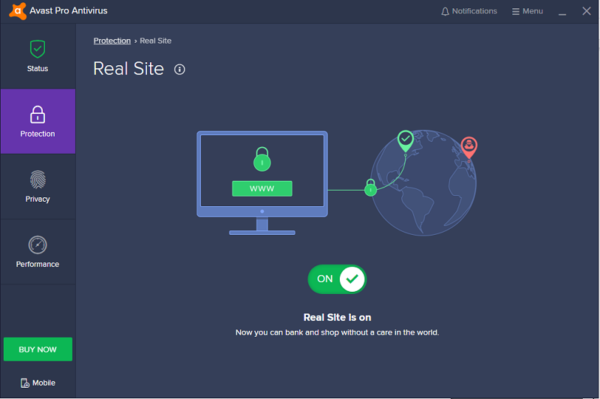 Avast Pro Real Site