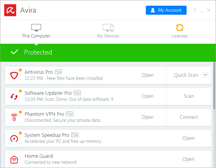free avira antivirus review