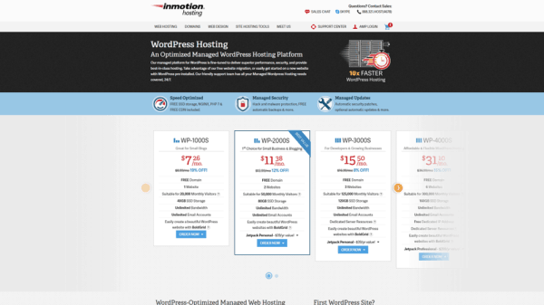inmotion-hosting-review-wordpress-plans