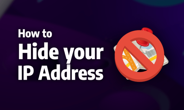 hide IP address