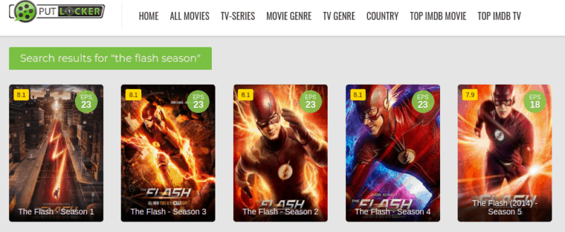 The Flash PutLocker