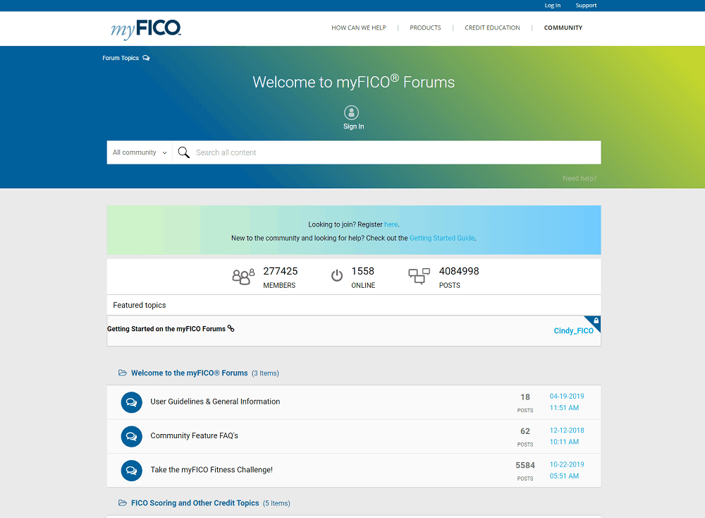 Discount Alternative For Myfico May 2020