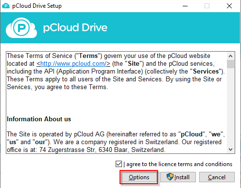 pCloud-Drive-Install-Options
