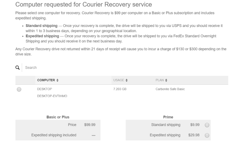 Carbonite-Courier-Recovery